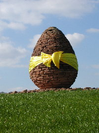 Andy Goldsworthy's Egg, Stepends, Penpont, Dumfriesshire
